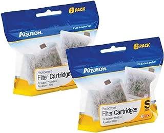 Aqueon Replacement Filter Cartridges, 12 Pack