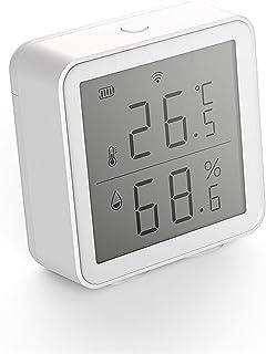 SOLE HOME WiFi Intelligent Température Et Capteur Dhumidité Maison Intelligente Thermomètre Hygromètre Capteur avec APP Al...