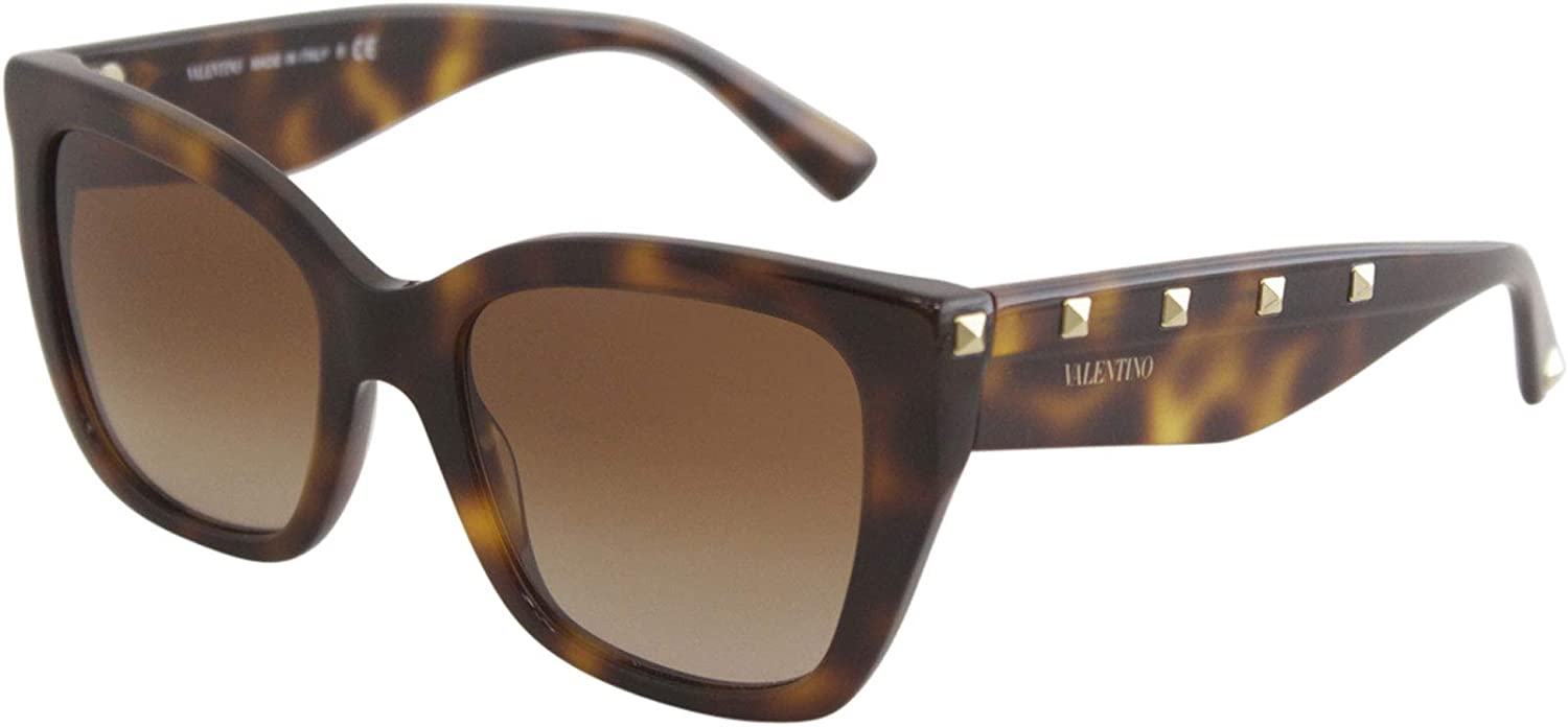 OFFicial store Valentino 0VA4048 Havana Gradient One Brown OFFicial Size