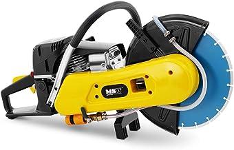 MSW Cortadora De Disco Máquina Para Hormigón A Gasolina TS-2500 (Profundidad de corte de 100 mm, Disco de corte de 300 mm, 2.500 W de potencia)
