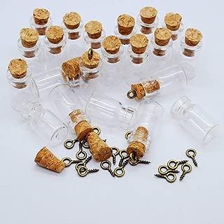 Best miniature glass vials with cork Reviews