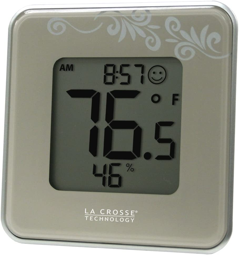 La Crosse Technology 302-604S Attention In a popularity brand Thermometer Digital Silver Indoor