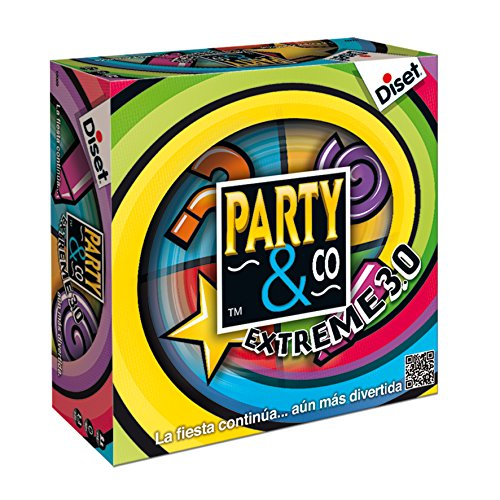 Diset - Party & Co Extreme 3.0 - Juego de mesa adulto a...