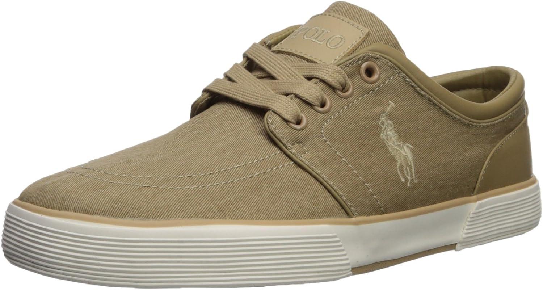 Polo Ralph Lauren Mens Faxon Low Sneaker