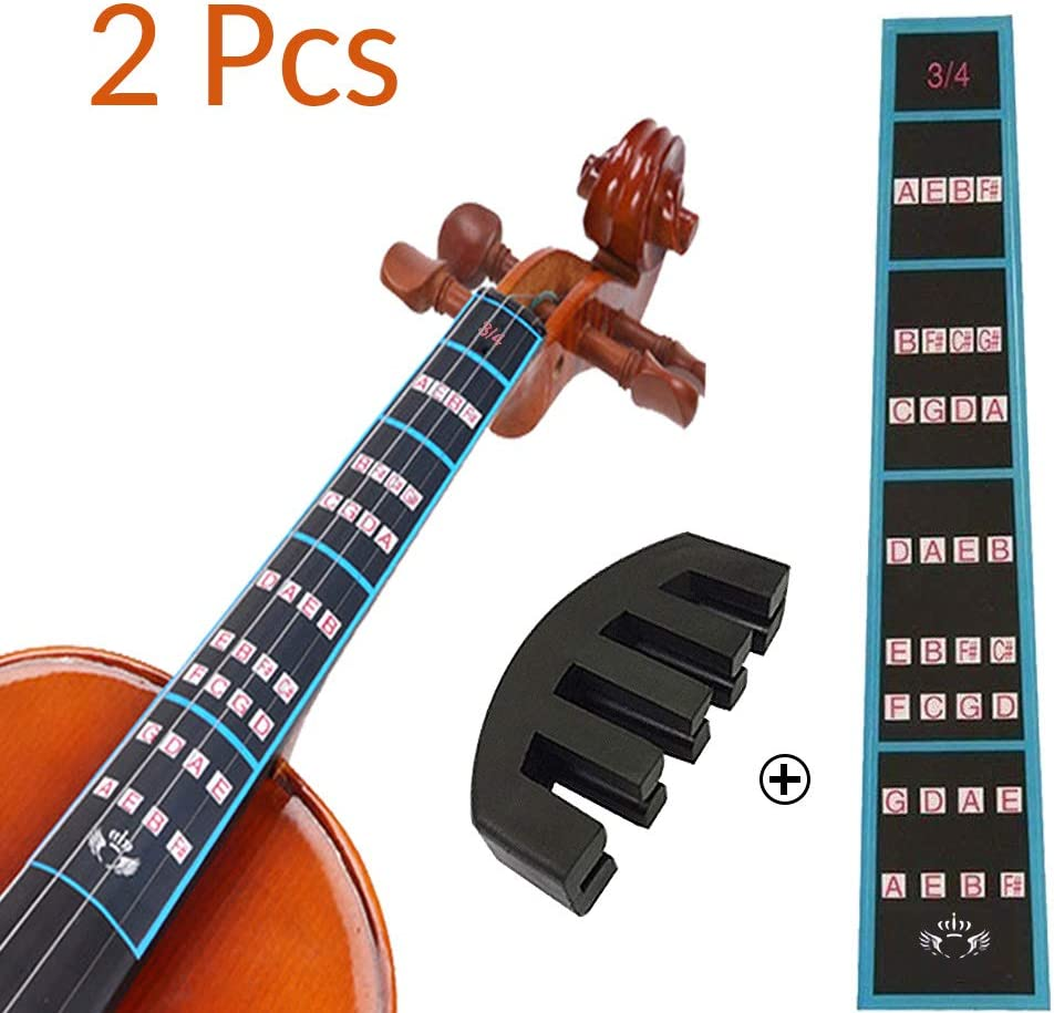 VCOSTORE Overseas parallel import regular item Violin Max 55% OFF Finger Guide and Rubber Pack 3 Mute 4 No