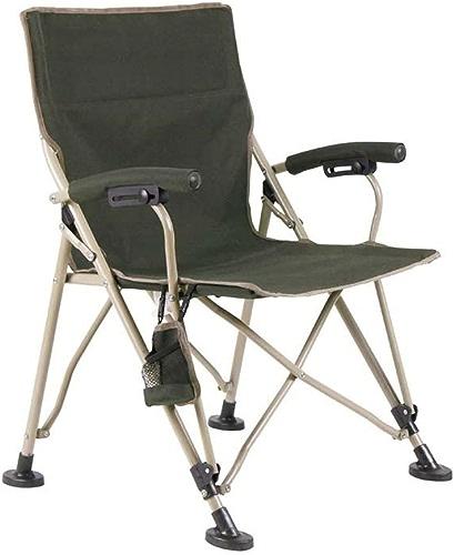 Chaise Pliante Chaise Longue Chaise de Plage Chaise de pêche Fauteuil d'extérieur Portable Camping