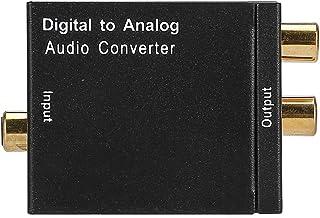 SANON Conversor de Audio Digitale Optiek Een Analoge Coaxiale Adapter Rca Convertidor