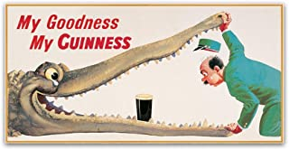 Trademark Fine Art GN0074-C1224GG Goodness XVI by Guinness Brewery, 12x24-Inch, 12x24