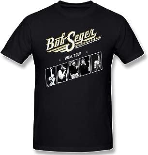 Bob The Final Seger Tour 2018 2019 T Shirt Funny Unisex Cotton Shirt Best Gift Idea Men Women Youth Boys Top