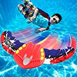 Swimming Pool Fish Toy, Stingray Torpedo Underwater Glider, Self-Propelled Pool Rocket Travels Underwater, Dive Pool Toy for Kids and Adults