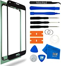 MMOBIEL Front Glass Replacement Compatible with Samsung Galaxy S5 / S5 Neo (Black) Display Touchscreen incl Tool Kit