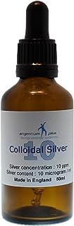 argentum plus – Plata Coloidal 10 ppm - Tarro con cuentagotas de 50 ml en ámbar vidrio