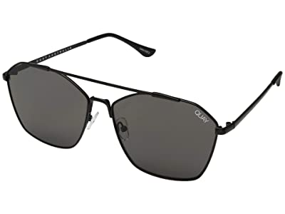QUAY AUSTRALIA Better Off (Black/Smoke) Fashion Sunglasses