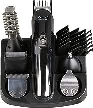 6 In 1 Cordless Electric Shaver Hair Clipper Hair Trimmer Titanium Beard Trimmer Shaving Machine Cutting Men Nose Trimmer