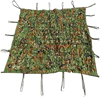 Image of DPPAN Desert Camouflage Netting, Great for Camping Woodland Military Shooting Hunting Sunshade Hide Party Decorations,Green_7x10m(23x33ft)
