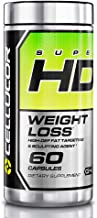 Cellucor SuperHD Thermogenic Fat Burner, Fat Burners For Men & Women, Weight Loss Supplement, 60 Count Capsules