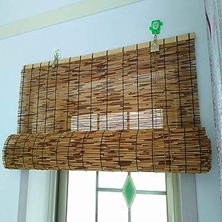 HIHIHI Persianas enrollables de bambú, persianas enrollables para Ventanas y Puertas, utilizadas en Patios, Jardines, protección Solar, ventilación, protección Solar, Personalizables,80x180cm/32x71in: Amazon.es: Hogar