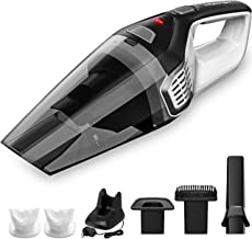 Homasy Portable Handheld Vacuum Cleaner Cordless, Powerful Cyclonic Suction Vacuum Cleaner, 14.8V Lithium with Quick Charge Tech, Wet Dry Lightweight Hand Vac