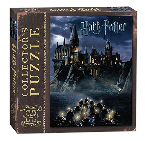 USAOPOLY World of Harry Potter 550Piece Jigsaw Puzzle | Art from Harry Potter & The Sorcerer's Stone Movie | Official Harry Potter Merchandise | Collectible Puzzle -  USAOPOLY, Inc., PZ010-430