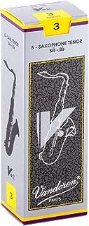 Vandoren SR623 Tenor Sax V.12 Reeds Strength 3; Box of 5