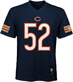 OuterStuff Khalil Mack Chicago Bears NFL Youth 8-20 Navy Home Mid-Tier Jersey