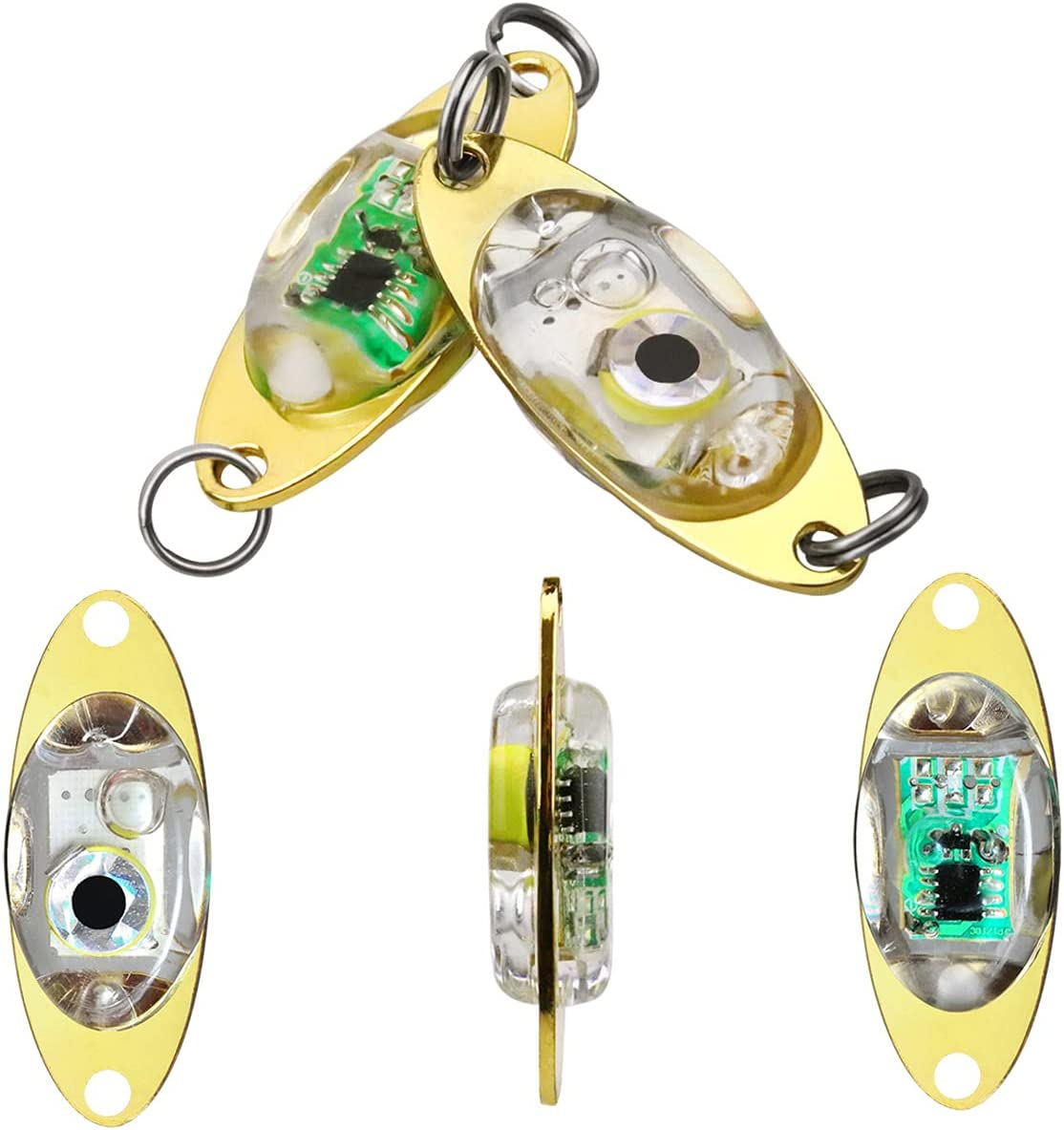 RTNLIT Lighted Fishing Lures National products Now on sale Kit Water-Trigger Deep Lights Drop