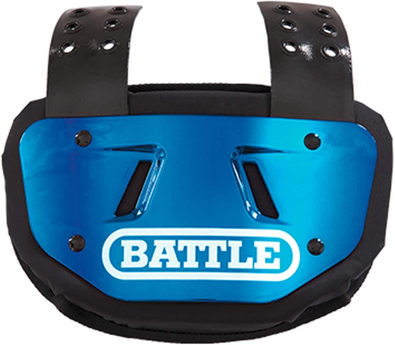 Battle Sports Back Plate - Rear Protector Lower Back Pads for Football Players : Sports & Outdoors