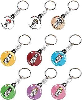 南三陸モアイファミリー 《 キーホルダー キーリング 9色 コンプリートセット 》おもしろ雑貨 おもちゃ 鍵 かわいい 小さい 雑貨 小物 プレゼント