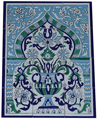 Fliesenbild Keramikfliesen Orientalisch Handbemalt Wandfliesen Mediterran 12 32