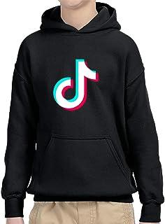 922df954f511 Trendy USA 1160 - Youth Hoodie TIK Tok Music Note Artist Logo Unisex  Pullover Sweatshirt