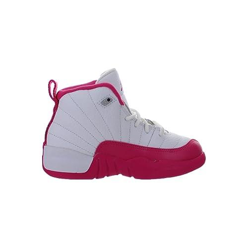 official photos 302db 735a7 Pink and White Jordan Valentine Twelve: Amazon.com
