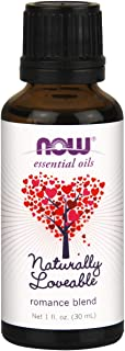 NOW Essential Oils, Naturally Loveable Oil Blend, Romantic Aromatherapy Scent, Blend of Pure Essential Oils, Vegan, 1-Ounce