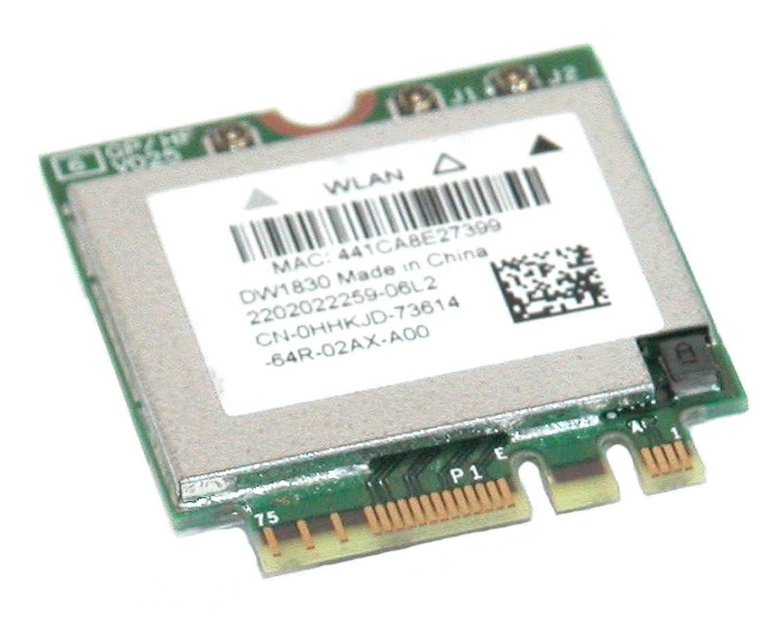 数値グリース負担DELL HHKJD WLAN DW1830 ワイヤレス-AC WI-FIカード BCM943602BAED