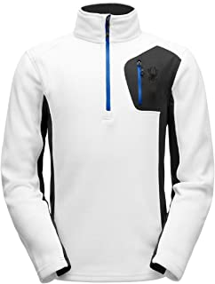 SPYDER Men's Bandit Half-Zip Stryke Fleece Pullover Jacket for Winter Sports