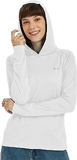 Willit Women's UPF 50+ Sun Protection Hoodie T-Shirt Long Sleeve SPF Shirt