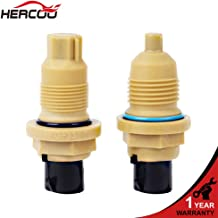 HERCOO Input & Output Speed Sensor Compatible with Dodge Caravan Chrysler 1989-Up fits A604 A606 Transmission