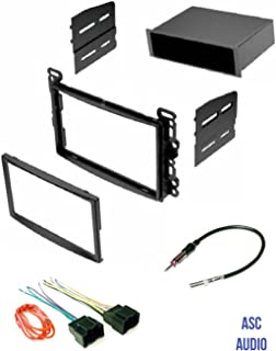 ASC Audio Car Stereo Dash Kit, Wire Harness, and Antenna Adapter for some Chevrolet Pontiac Saturn Vehicles - Compatible Vehicles Listed Below,