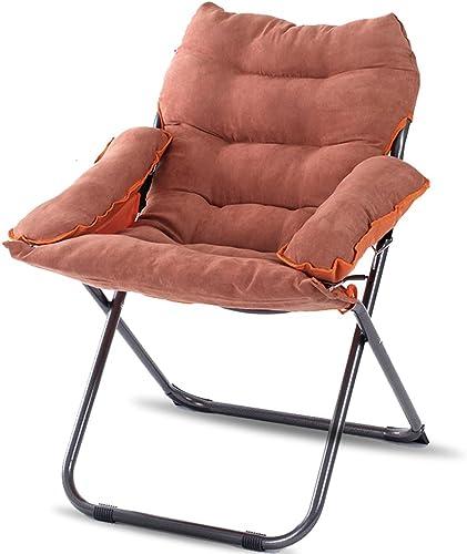 AJZXHESimple et créatif Chaise Pliante, Chaise Longue Portable, Bureau Chaise Pliante déjeuner, Chaise d'ordinateur, Fauteuil