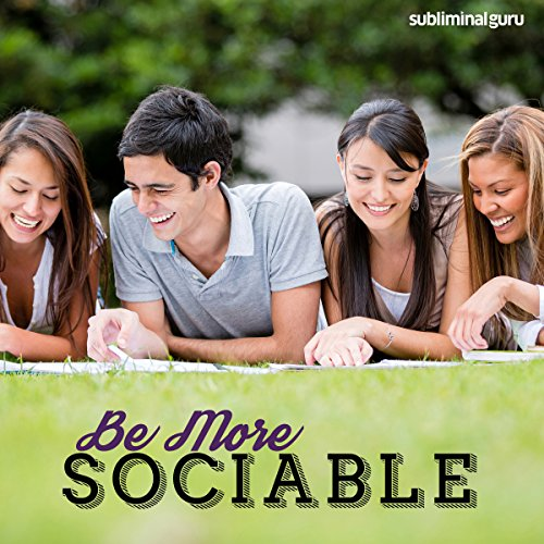 Be More Sociable audiobook cover art
