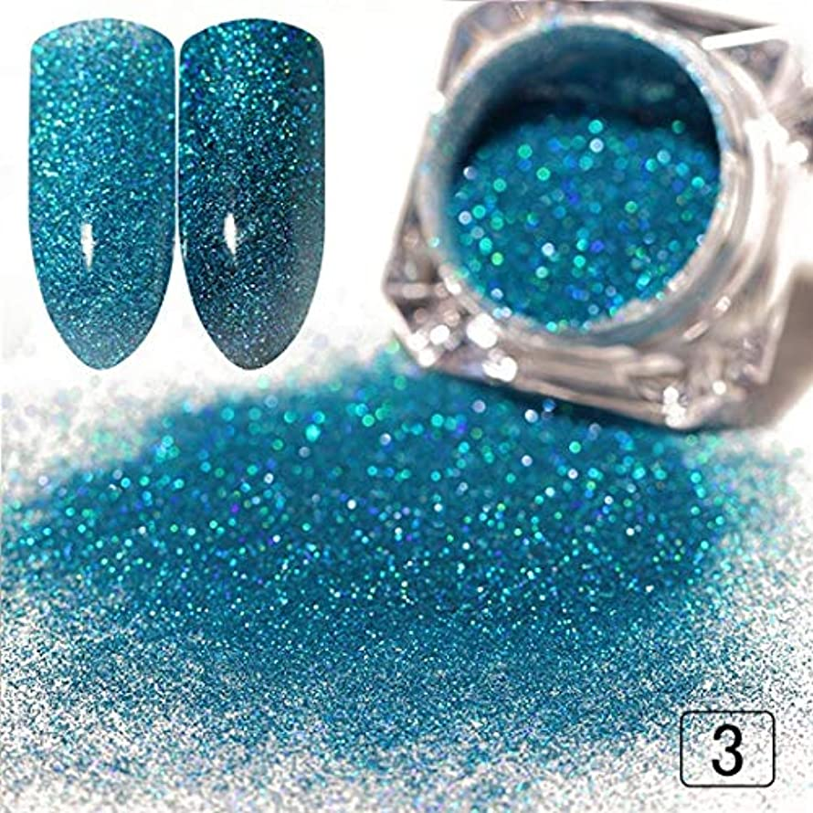 1G graphic Nail Glitter Powder Gold Sliver Pigment Shinny Chrome Dust Nail Art DIY Decoration For Gel Polishs Nails Color 3