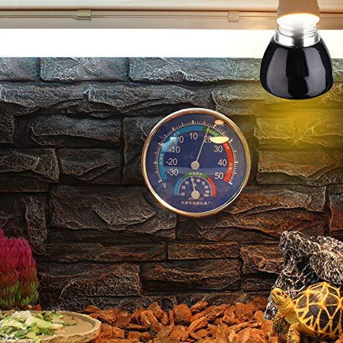 Luyish verrekijker voor huisdieren, keramiek verwarmingslamp, 1,97 x 2,36 inch, bestand tegen invloeden op water, kan worden gebruikt voor de petwatertank verlichting verwarming