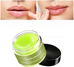 Lip Sleeping Mask, Lip Mask, Overnight Lip Mask, Lip Treatment, Moisturizing Green Tea..