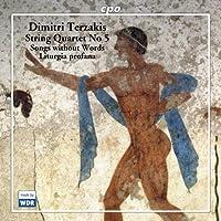 String Quartet 5 by DMITRI TERZAKIS (2005-09-20)