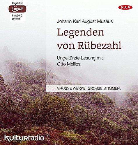 Legenden von Rübezahl: Ungekürzte Lesung mit Otto Mellies (1 mp3-CD)