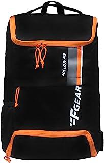 F Gear Rudolf Black 26 Ltrs Backpack (3842), M