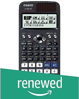 (Renewed) Casio FX-991EX Scientific Calculator (Black)