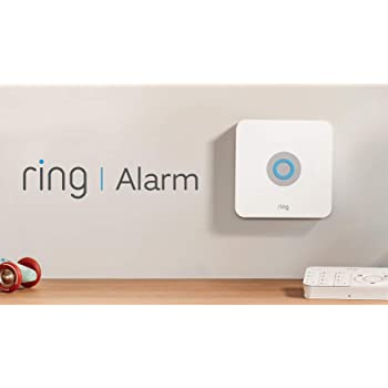 Ring Alarm 5 Piece Kit – Home Security System with optional Assisted Monitoring – No long-term commitments – Works with Alexa