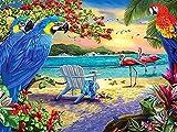 Kit de bordado de pintura de diamante taladro animales 5D DIY bordado de diamantes pájaro diamantes de imitación imagen mosaico artesanías decoración del hogar A4 50x70cm