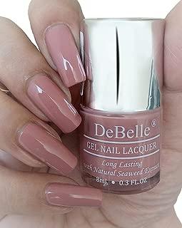 DeBelle Gel Nail Polish Rose Aurelia (Pink Mauve Nail Polish) - 8ml