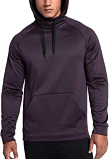 46527fa3e9d0 NIKE Men s Therma Training Hoodie Port Wine Medium